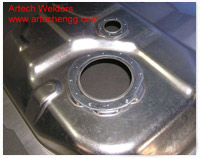Fuel Tank Ring Welding