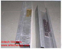Hinge Reinforcement Welding On Door Frame